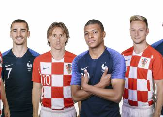 France-Croatia: a final of contrasts