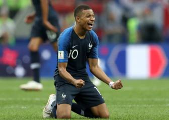 Gallery: France win the World Cup after goalfest finale