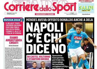 Napoli reportedly turned down chance to sign Cristiano