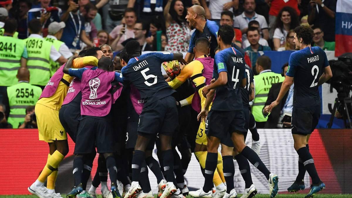 Francia 4 - 2 Croacia: resumen, resultado y goles. Mundial Rusia ...