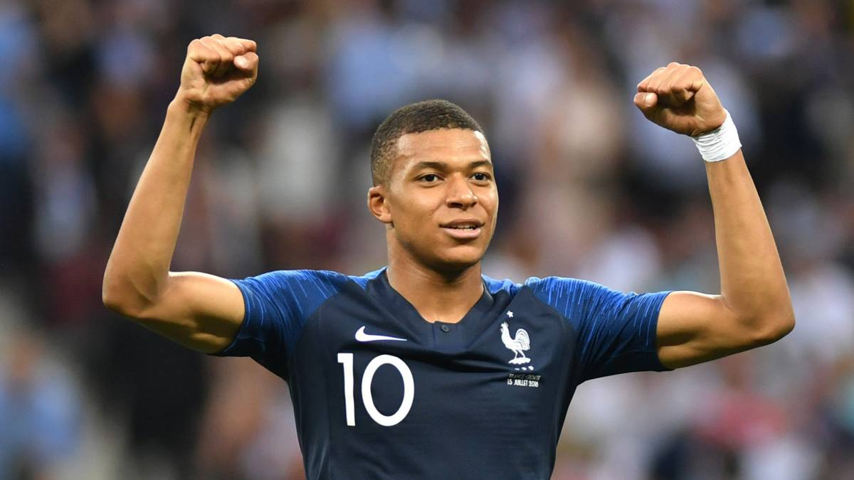 Mbappé the second youngest player ever to score in a World Cup final