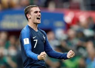 Griezmann, MVP of World Cup final: