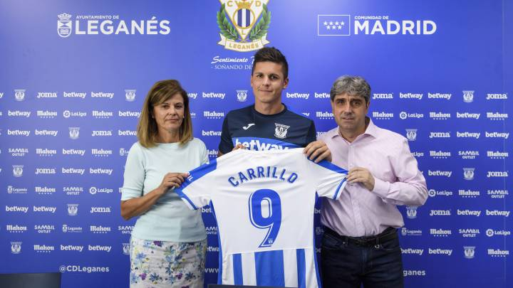 El Leganés presenta a Guido Carrillo.