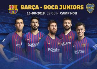 Boca Juniors, Trofeo Gamper opponents for Barça on August 15