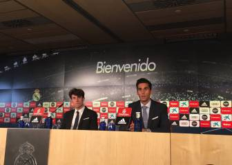 Arbeloa stands in for Butragueño during Odriozola presentation