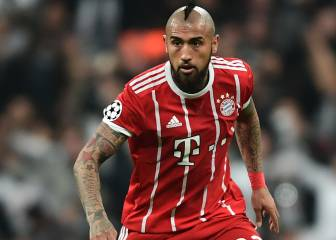 Bayern happy to sell Arturo Vidal and Atlético could step in