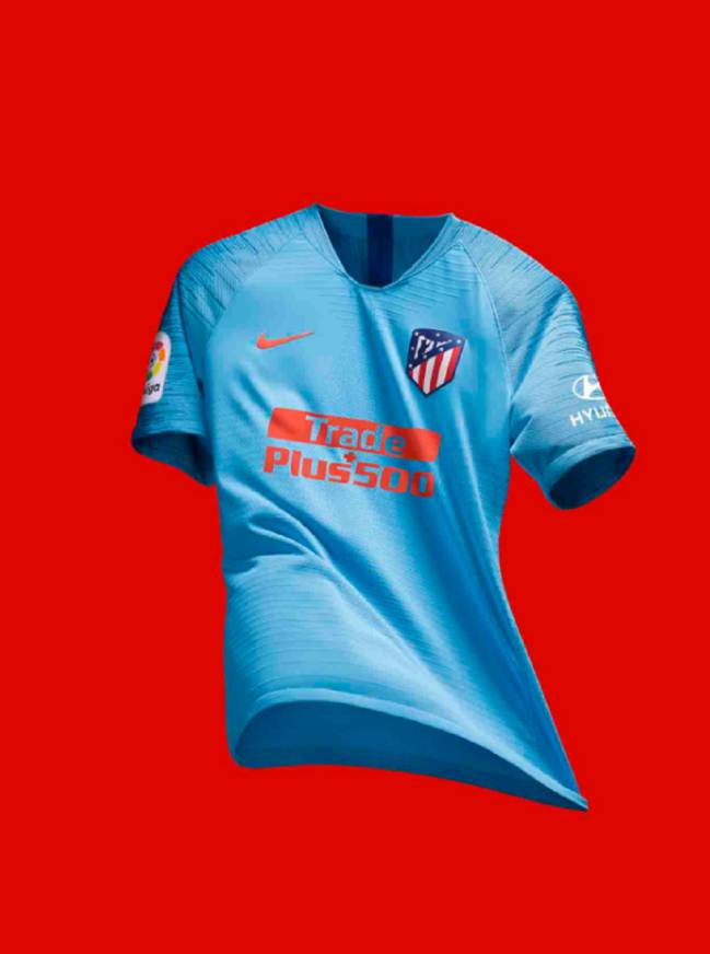 wholesale dealer 2658e cc9ea Atlético present their away jersey for the 2018-2019 ...