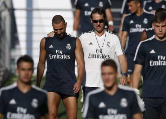 Lopetegui sends affectionate wink in Benzema's direction