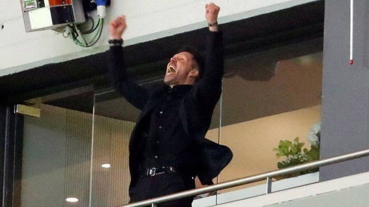 Simeone to watch the UEFA Super Cup against Real Madrid from his own private box in Tallinn