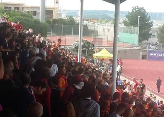 Galatasary and Valencia fans brawl in pre-season friendly