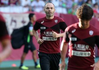 Iniesta ends dreary debut in Japan on the losing side