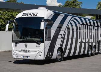 Juventus unveil new team bus for forthcoming Serie A season
