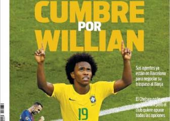 Willian's agents are in Barcelona - reports