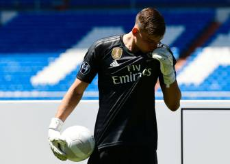 Lunin unveiled by Real Madrid: