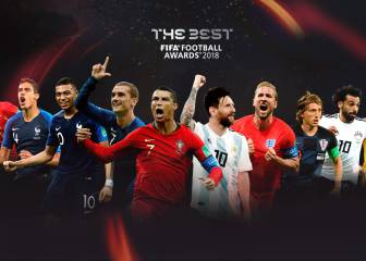 Real Madrid lead the list of 'The Best' nominees