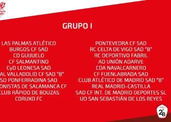Calendario completo de los cuatro grupos de Segunda B - AS.com