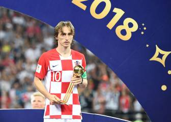 Modric, fans' choice for FIFA's 'The Best' award