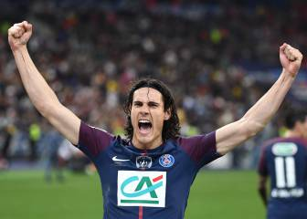Cavani guarantees goals: 34 per season since joining Napoli