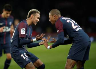 Mbappé ousts Neymar at PSG