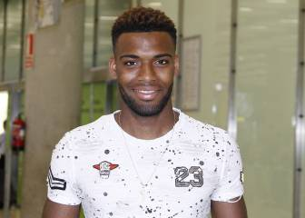 Thomas Lemar touches down in Madrid