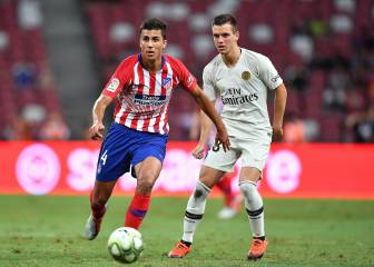 Atlético's youngsters pipped at the post by PSG