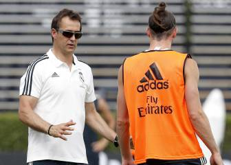 Lopetegui tests out the trio of Bale-Benzema-Vinicius in attack