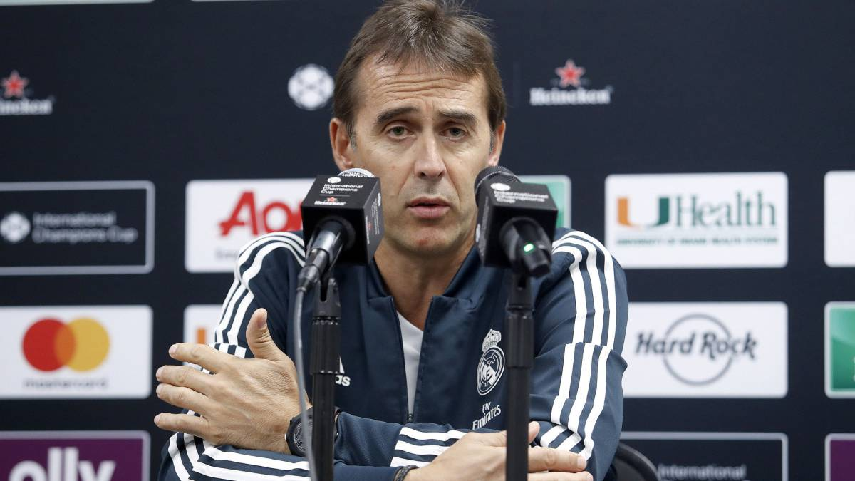 "Lopetegui: ""Reinventing the team without Ronaldo is an exciting challenge"""
