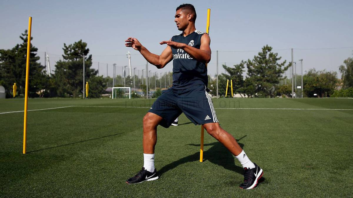Casemiro back in training but no sign of Marcelo