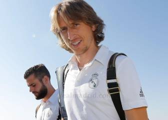 Modric to return to training on Wednesday