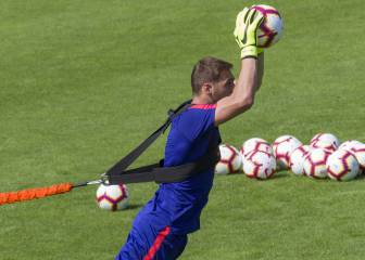 Oblak regresa al grupo y Gameiro sigue aparte