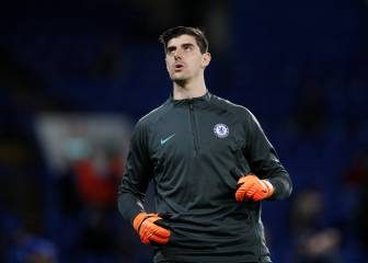 Real target Courtois reportedly tells Sarri he wants out