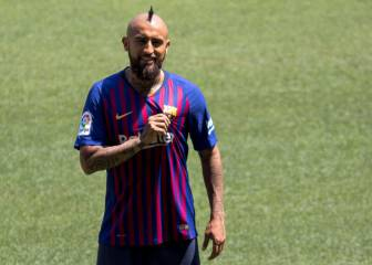 Vidal cleared by Barça medical staff to play Sunday's Super Cup