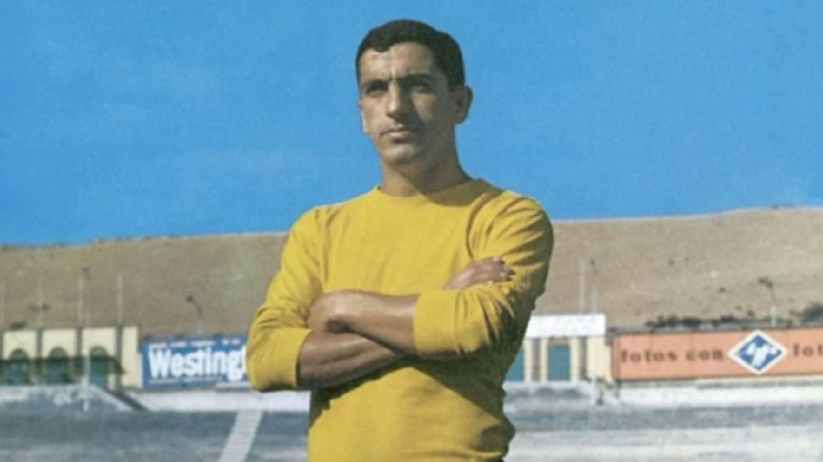 Gilberto I, leyenda de la UD Las Palmas.