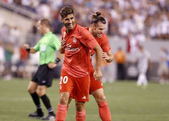 Asensio, Bale goals earn Real win over Roma in New Jersey