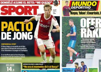 Monaco, PSG eye Rakitic as Barça go back for De Jong