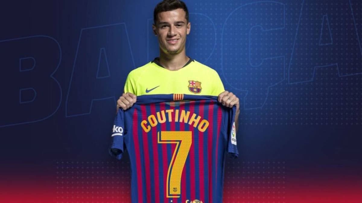 Coutinho handed the No.7 shirt reserved for Griezmann