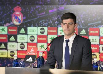 10 key Courtois quotes from the Belgian's Real Madrid unveiling