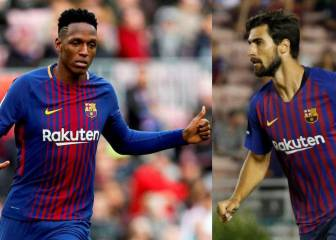 Everton sign Barça's Mina and Gomes, plus Shakhtar's Bernard