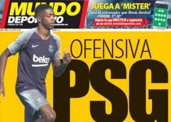 Barcelona willing to hear PSG's offer for Dembélé