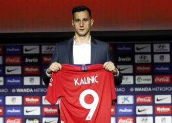 Atlético new boys Kalinic and Arias officially presented