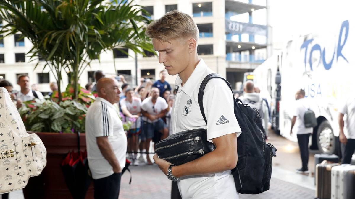 Real Madrid: Odegaard heads for exit after Super Cup omission