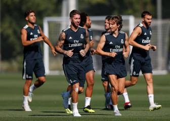 Marcelo and Casemiro the two doubts in Lopetegui's first official starting eleven