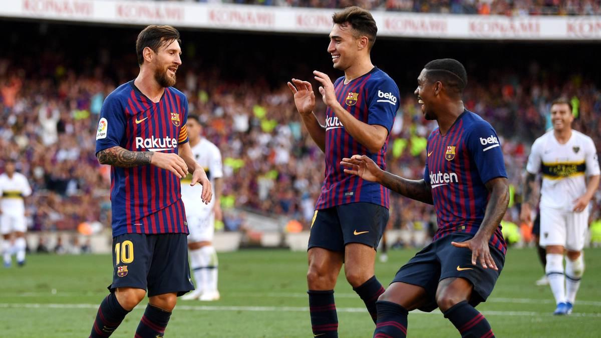 Barcelona 3 - Boca 0  goles 3bdb8d1bc8991