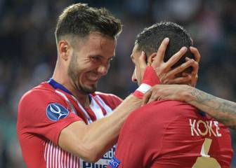 Atlético's academy shows up with Saúl and Koke covering 32km