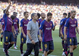 Vermaelen, Munir and Alcácer omitted for Alavés match