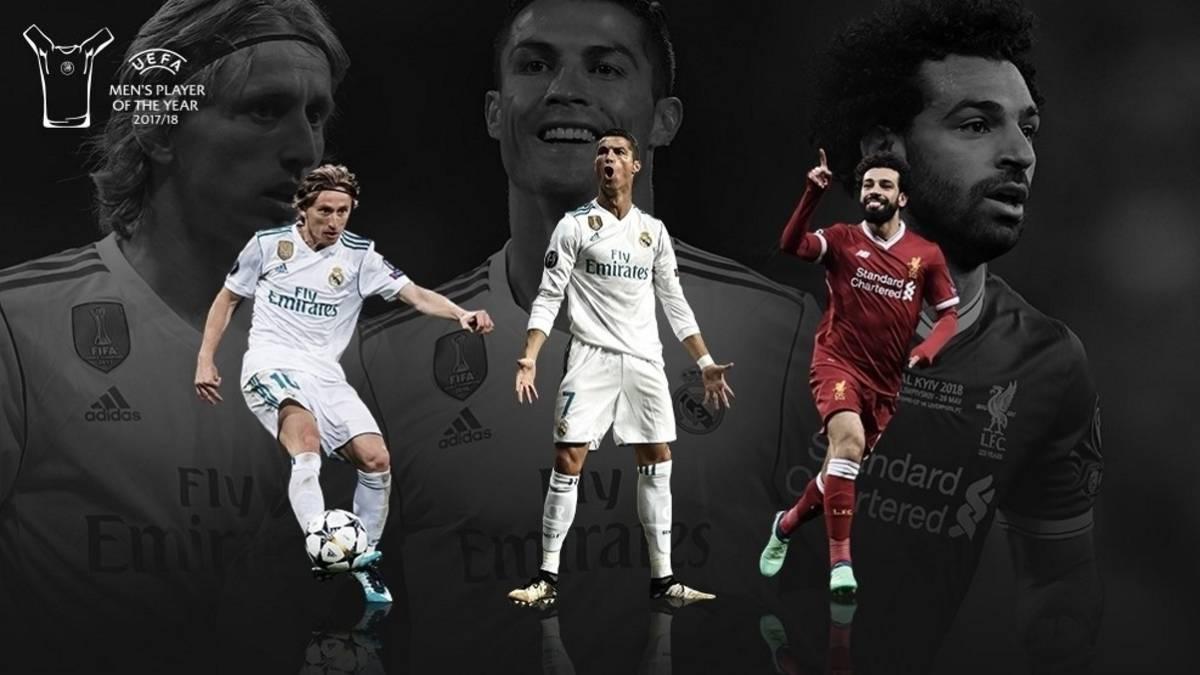 მოდრიჩი, რონალდუ თუ სალაჰი? UEFA-მ სამი ფინალისტის ვინაობა დაასახელა