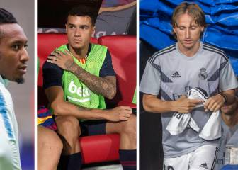 Barça, Madrid and Atleti: €788.5M of talent on the bench