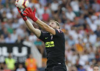 Oblak on Filipe Luís' possible exit: