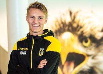 Real Madrid's Ødegaard joins Vitesse Arnhem on loan