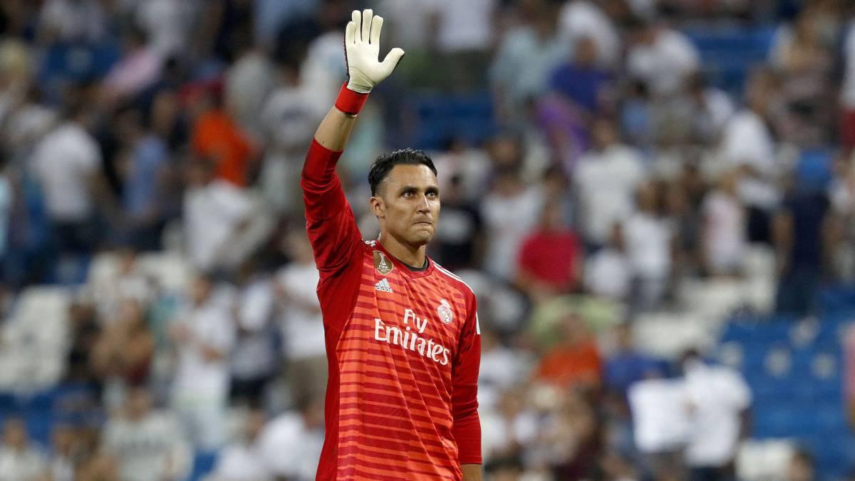 Man City look to Keylor Navas to replace the injured Bravo - AS.com